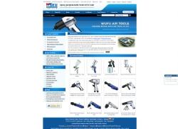 台州网络公司|佳源网页设计为五福气动工具开发制作的网站
