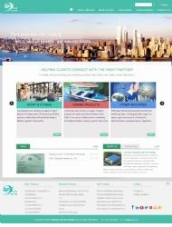 台州网络公司|佳源网页设计为上海箭腾外贸网站开发制作的网站