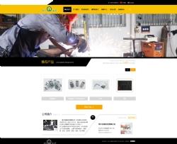 台州网络公司|佳源网页设计为浙江金确科技有限公司开发制作的网站
